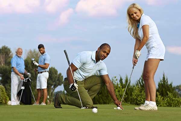 golflessen golfles weekend